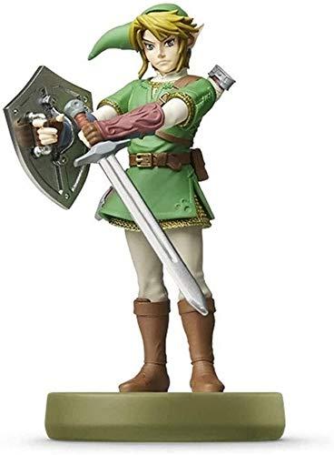 Yubingqin Leyenda de Zelda Link The Twilight Princess Figurine!Leyenda de Zelda Figura de acción Juego Marca Maestra Figura de colección de la respiración del Wild Japan Import / 3DS / Wiiu/Switch