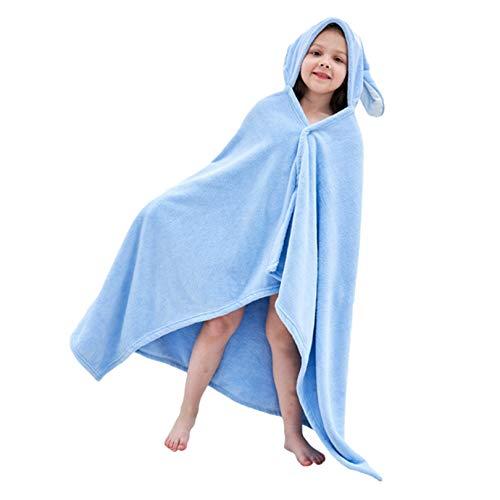 VPbao Bata: manta de bebé, toalla con capucha, poncho de animal para albornoz de bebé, bonita toalla deportiva para niños pequeños