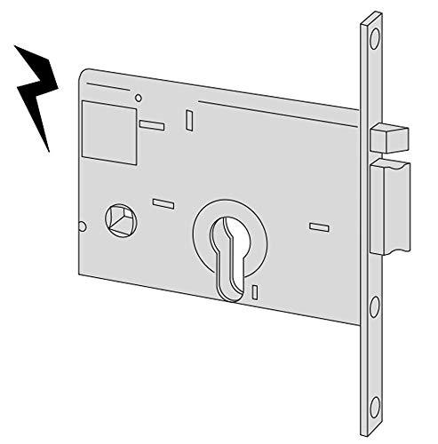 Cisa 11560-10 Serratura Elettrica per Cancello 14010, Entrata Destra, 60 mm