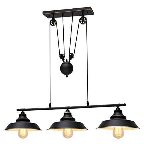 Top 10 pulley light fixtures island for 2020