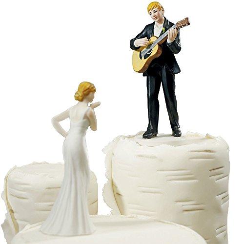 Tortenfigur Love Serenade Brautpaar Tortendeko Tortenaufsatz Hochzeit