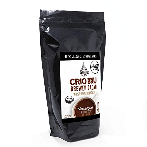 Crio Bru Limited Edition Nicaragua 24oz (1.5 lb) Bag | Natural Healthy Brewed Cacao Drink | Great Substitute to Herbal Tea and Coffee | 99% Caffeine Free Gluten Free Low Calorie Honest Energy