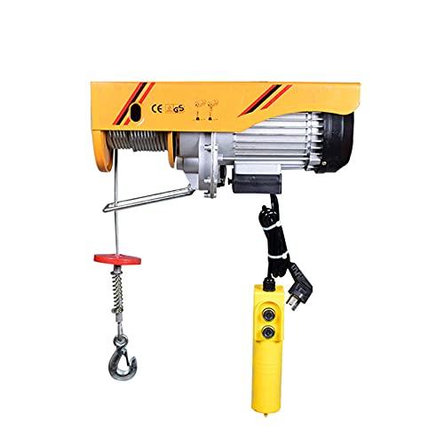 JCX Polipastos Electricos Elevador Electrico, Guinche Electrico Cable con Mando A Distancia,...