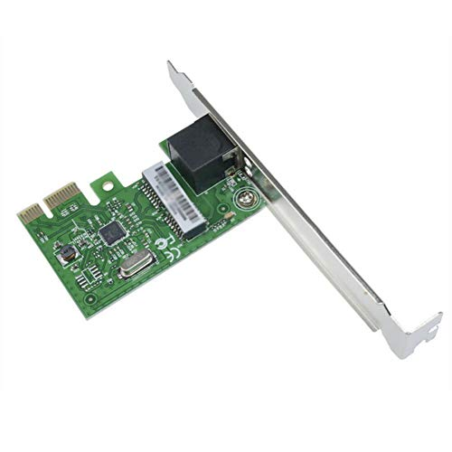 Inicio Gigabit Ethernet LAN Pci-E Express Tarjeta de Red Adaptador de Interfaz Controlador de Escritorio Tarjeta de Interfaz de Red para El Escritorio