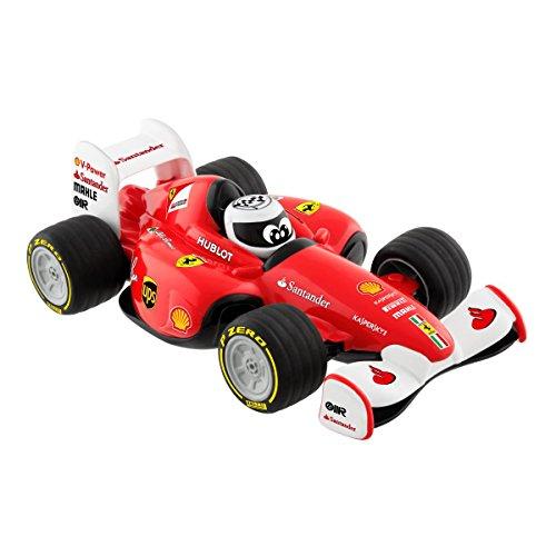 Chicco Ferrari Formel 1 Racer, ferngesteuertes Spielzeugauto mit ergonomischer Fernbedienung und echten Ferrari-Sounds, ab 3 Jahre