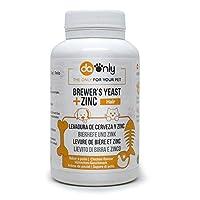 Complement riche en vitamines, minéraux et protéines à haute valeur biologique. Favorise la santé de la peau, des cheveux et des ongles. Améliore le transit intestinal et sa teneur dans vitamine B renforce le système immunitaire. PELAGE SAIN : La lev...