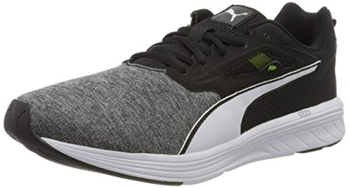 PUMA NRGY Rupture, Zapatillas de Running Unisex Adulto, Negro Black/High Rise, 42.5 EU