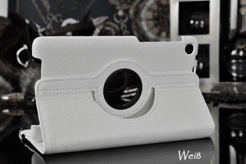 Sacchetto per Google Nexus 2 (2013) 7.0 Pollice Smart Cover Slim Case Stand Flip II. Generation 360° (Bianco) NUOVO
