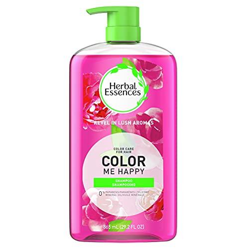 Herbal Essences Shampoo for Colored Hair, Paraben-Free, Color Me Happy, 29.2 fl oz