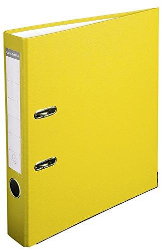 Exacompta 915404B – Archivador de palanca polipropileno, Amarillo, A4, 320×290 mm, 1 pieza