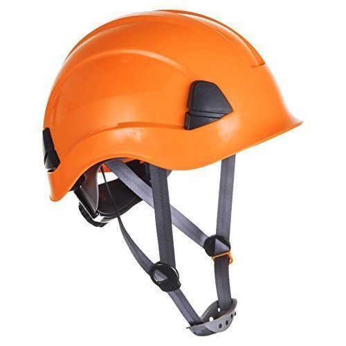 Portwest PS53O - Casco de escalada, color naranja