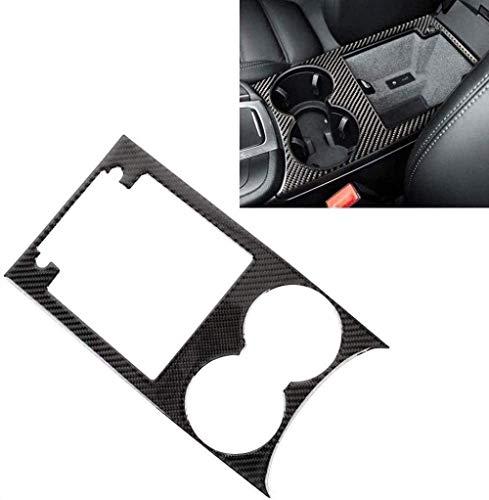 XHNICE Car Central Control Panel Dekoration Abdeckung Für Porsche Macan, Auto Carbon Fiber Navigationsbildschirm Cd Panel Dekor Innenausstattung Aufkleber Zubehör