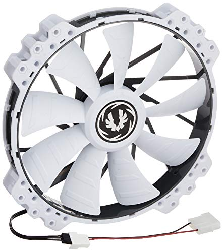 BitFenix Spectre Pro All - Ventilador para Caja de Ordenador (900 RPM, 12 V, 148.72 CFM), Blanco