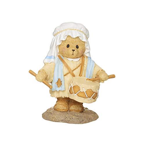 Roman Cherished Teddies, Little Drummer Boy Figure, Cherished Teddies Nativity Collection, 3.75