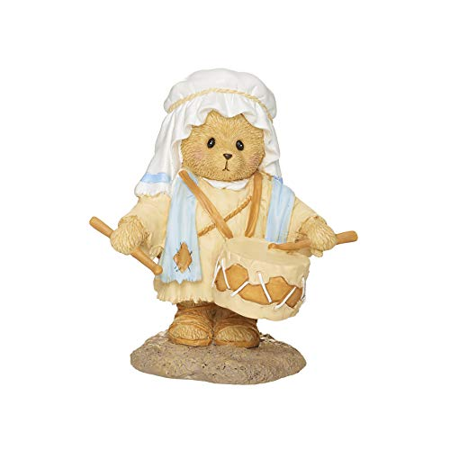 Roman Cherished Teddies, Little Drummer Boy Figure, Cherished Teddies Nativity Collection, 3.75