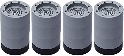 Anti-slip and noise-reducing washing machine feet 4pcs,Washing machine feet pads rubber,for Diameter less than 4.7cm all Washing Machine Dryer Refrigerator Table Chair (8.5cm)