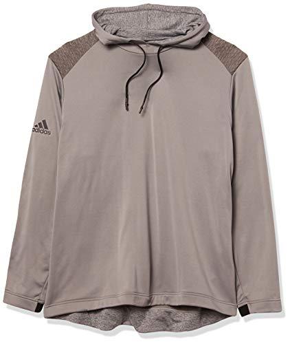 adidas Cold.rdy Sudadera con capucha para hombre - TM5478F20, Sudadera con capucha, S, gris (Grey Three)