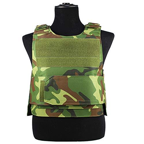 ThreeH Gilet Tactique Vêtements de Protection Équipement d'entraînement Militaire extérieur pour Adultes SA0402C