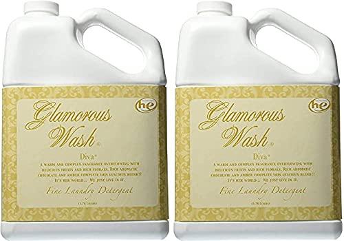 TYLER Gallon Glam Wash Laundry Detergent, Diva (2021 version 4 gallon)