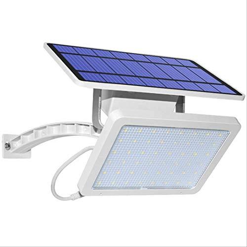 XYQY Solar Solar Wall Licht Outdoor Garten wasserdichte Straße Flut licht Solar Panel 48 Leds Scheinwerfer für Garten Hof Terrasse weiß