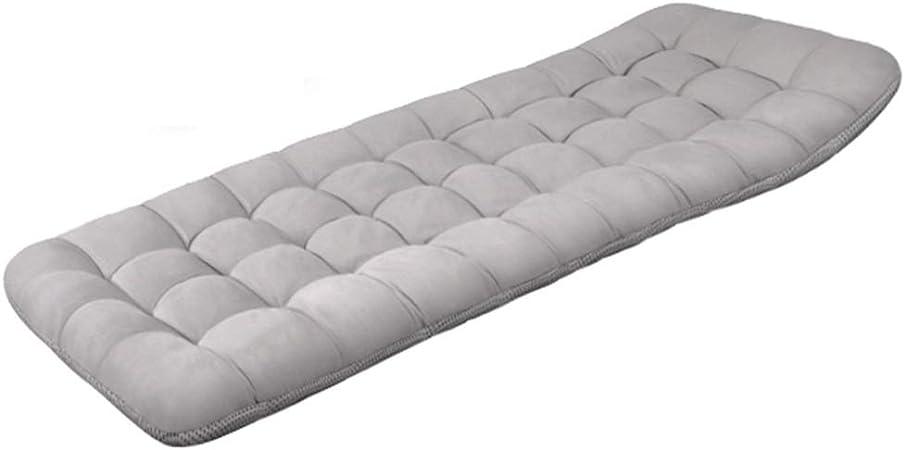 ZCXBHD Cojín colchón Acolchado Grueso Almohadilla algodón Perla Tumbona jardín El cojín Mat Lounge portátil para Viajes/Vacaciones/Interior/Exterior (Color : D190X70X8CM): Amazon.es: Hogar