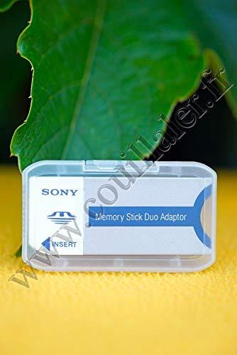 Sony Memory Stick Duo Adapter Kartenleser Silber – Kartenleser (Silber, 3g, 21,5 x 50 x 2,8 mm)