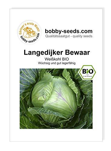 Langedijker Bewaar Weißkohl BIO-Kohlsamen von Bobby-Seeds, Portion