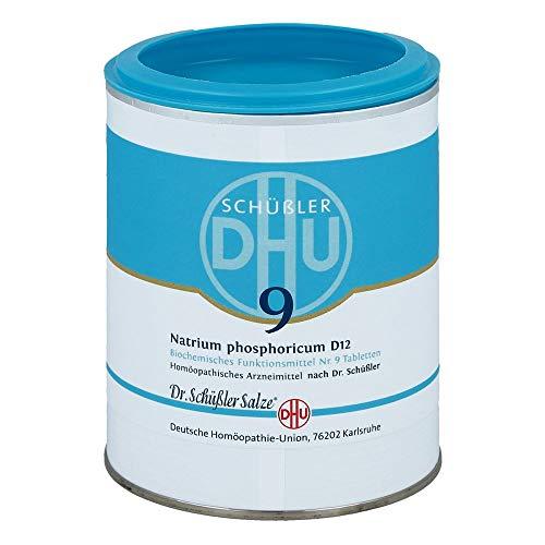 DHU Schüßler-Salz Nr. 9 Natrium phosphoricum D12 Tabletten, 1000 St. Tabletten