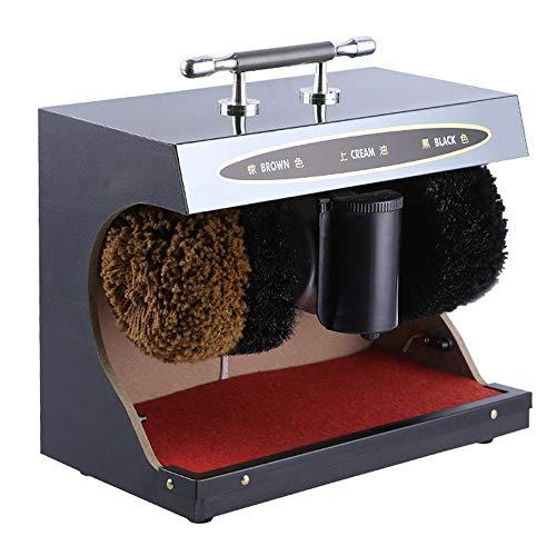 DDIAN Máquina De Pulido Y Abrillantador Mecánico para El Pulido De Zapatos De Inducción Completamente Automática Cepillo De Limpieza