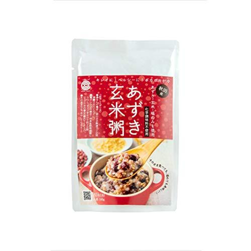 あきた アグリヴィーナス あずき玄米粥 国産 玄米 あずき 塩のみを使用 化学調味料不使用 160g 1袋