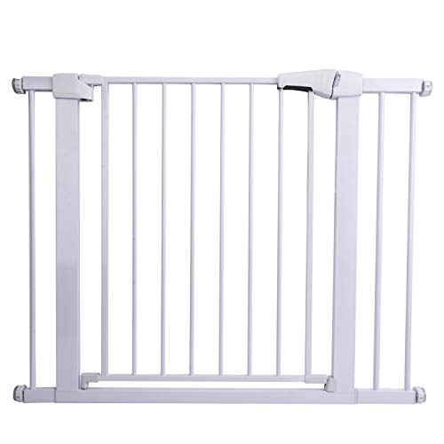 41h7p5pvieL The 7 Best Pressure Mounted Baby Gates of [2021 Review]