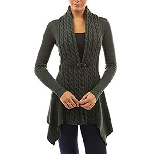 Buby Womens Deep V Neck Langarm Chunky Knitted Ribbed Sweater Pullover Top Damen Übergroßes Sweatshirt Kaschmir Winterkleid Warmer Jumper Wolle Baggy Fluffy Tops Outwear Cardigan Bluse Knitwear