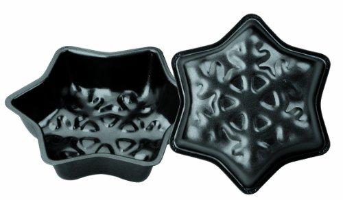 IBILI Mini - Set 2 moldes Copo de Nieve, 12 cms