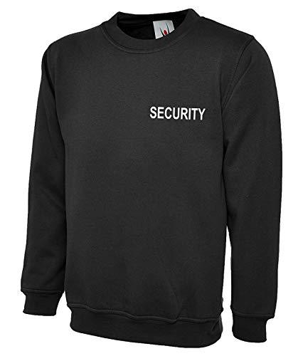 SWEAT-SHIRT SWEAT SECURITY bedruckt vorne und hinten GR. XL
