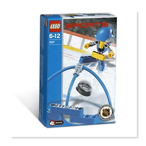 Lego 3557 Sports Hockey Blauer Torschütze