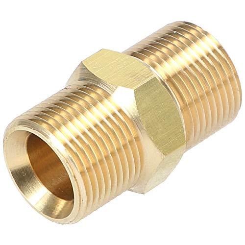 Doppelnippel M22x1,5 AG Schlauch-Verbinder Adapter Kupplung für Hochdruckreiniger
