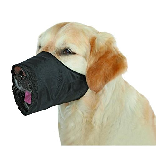 TRIXIE Museliere polyester L noir pour chien