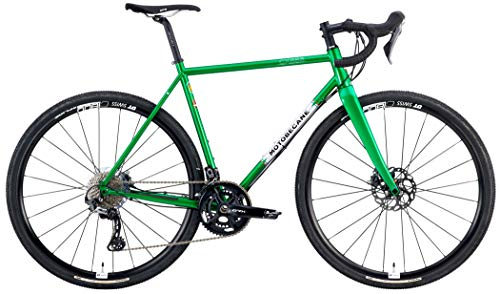 2020 Motobecane Mulekick 853 RX800 Reynolds 853 Steel GRX Equipped Gravel Road Bike (Green, 61cm - Fits Most 6'1' to 6'3')