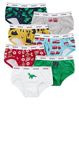 Carter's Toddler Boys 7 Pack Cotton Brief Underwear (2-3, Multi)