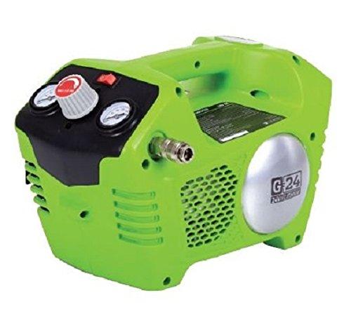 Greenworks 24V Akku-Greenworks Kompressor 2L, 8bar,...