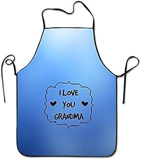 Xarchy Art Red Rose `` I Love You Grandma '' Mug Café Tablier de cuisine de cuisine