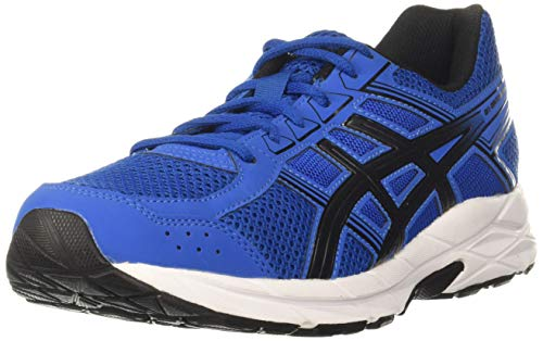ASICS Men's Gel-Contend 4b+ Indigo Blue/Pure Silver Running Shoes-8 UK (42.5 EU) (9 US) (1011B141)