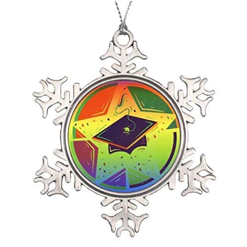 Cukudy - Adorno de Navidad personalizado con forma de copo de nieve para mujer, hombre, esposo, esposa, amigos, Gils y niños