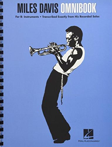 Miles Davis: Omnibook For B Flat Instruments - Bk: Noten für Instrument in b: For BB Instruments