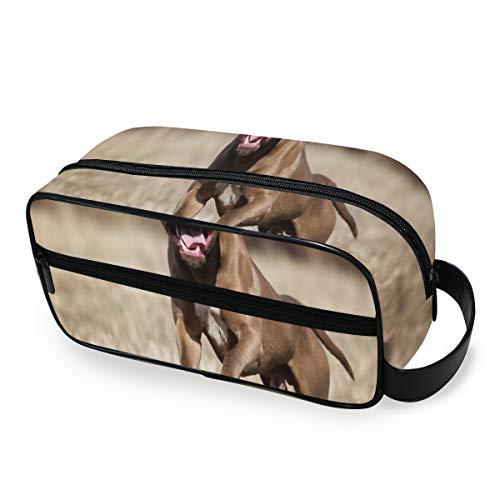 American Pit Bull Terrier Organizador de artículos de tocador con Cremalleras Organizador...