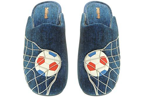 DEVALVERDE 3506 Chinelas Hombre Invierno | Zapatillas Descalzas Destalonadas | Portería Balón...
