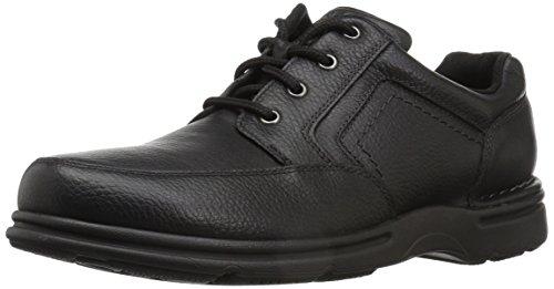 Rockport mens Eureka Plus Mudguard Oxford, Black, 9.5 Wide US