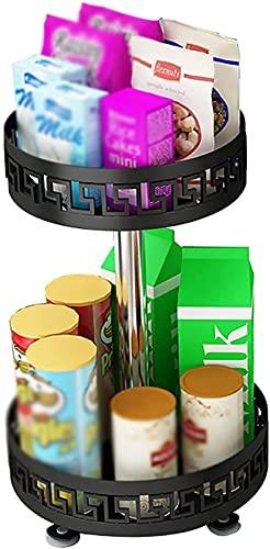 16.1 inch draaitafel,2-tier specerijen rack organisator fruit en fruit rack voor keuken,badkamer,woonkamer,aanrecht…
