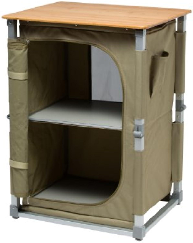 Cao Camping Pantry Garde, mit Bambus-Tischplatte