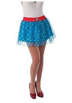 Rubie s Women s Marvel Universe Adult American Dream Skirt Multi One Size
